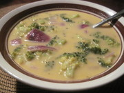 brocolli cheddar soup