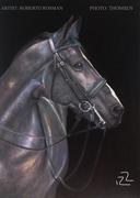 """""""NESCIO"""" horse portrait Dead Layer"""