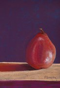 Portrait of a Red Pear   SOLD