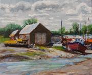 Boatsheds 2 - Morning