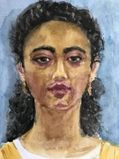 portrait of Sitta.