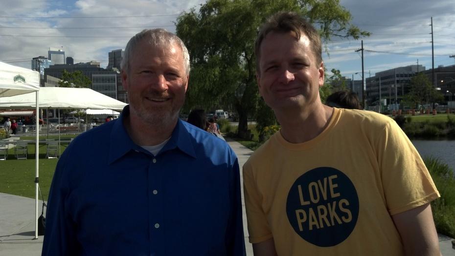 Me and Mayor Mcginn