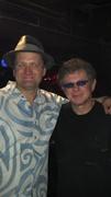 After the gig with Lee Oskar