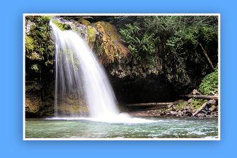 Iron Creek Falls!