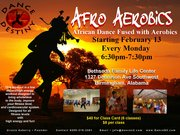 Afro Aerobics (African Dance fused with Aerobics)