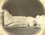 Gustave Le Gray, Eduoard Baldus, Louis Robert or Circle of Le Gray: La Piece d'Eau, Chateau de Fontainebleau