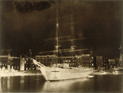 Varin Freres: Ship in La Rochelle Harbor.