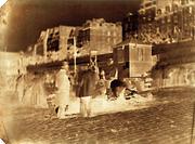 Charles Nègre: Marchands sur les Quais de l'Hotel de Ville.