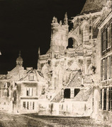Adolphe Humbert de Molard: Abside de l'Église Saint Gervais, Falaise, France.