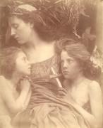 Julia Margaret Cameron: Une Sainte Famille, Aug 3rd, 1872.