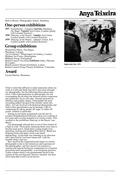 "Anya Teixeira(1913-1992): ICA ""Womens' Images of Men"" Catalogue 1980"