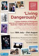 'Living Dangerously' poster