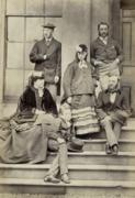 A proper British Family, 1865