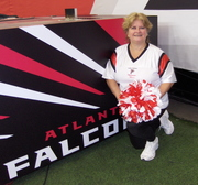 Denise Bauer Forrester- Atlanta Falcon Alumni Cheerleader, Nov. 16, 2008
