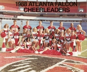 Atlanta Falcons Cheerleaders Coed Squad