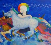 Anioł na koniu