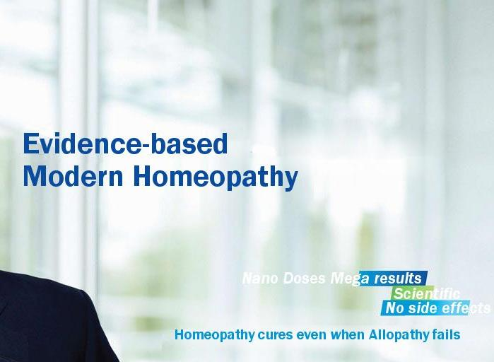 Evidence Based Modern Homeopathy