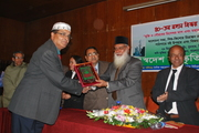Victory Day Award 2010 received by Dr. M. Ahmed