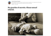 No guardes el secreto. Abuso sexual infantil