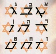 22 letters of the Hebrew alphabet and how they are found on the 6 pointed star 1