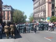 Desfile militar en madrid