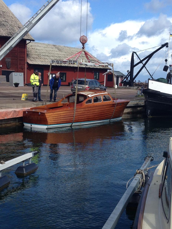 Sjösättning i Hästholmen