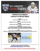 Sound Tigers partner with SARAH