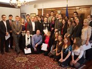 Young Polish Professionals Group Photo - Polish Consulate