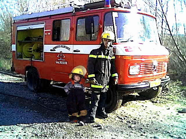 papa y nico bomberos