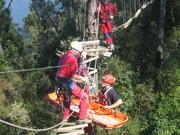 rescate en canopy