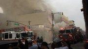 EXPLOSION EN NY MANHATAN