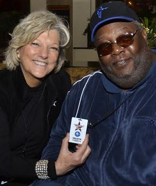 Shirley and Boogie At The IBC