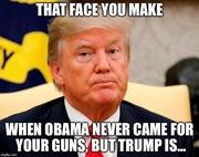 Trump Taking Guns