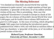 Holocaust - Allied Leaders' Memoirs