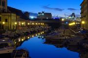 un canale del rione la venezia a Livorno