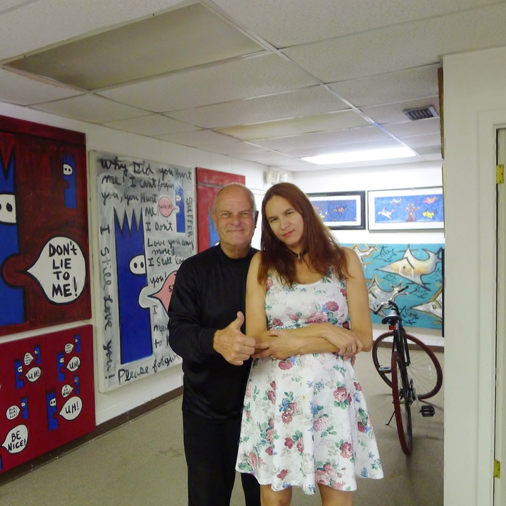 Robin Van Ardsol and Sandra Monday
