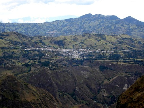 La Cruz - Aerial view from afar
