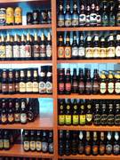The Beer Wall at Sharp Edge in Pgh