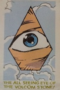El ojo que todo lo ve - the all seeing eye of the volcom stone