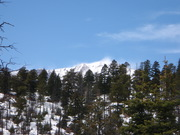 Wind whipping off Pikes Peak