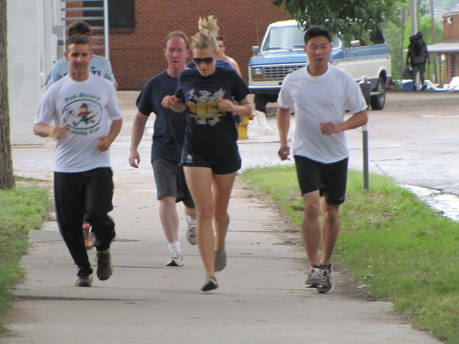 Jack Quinn's Running Club, July 7