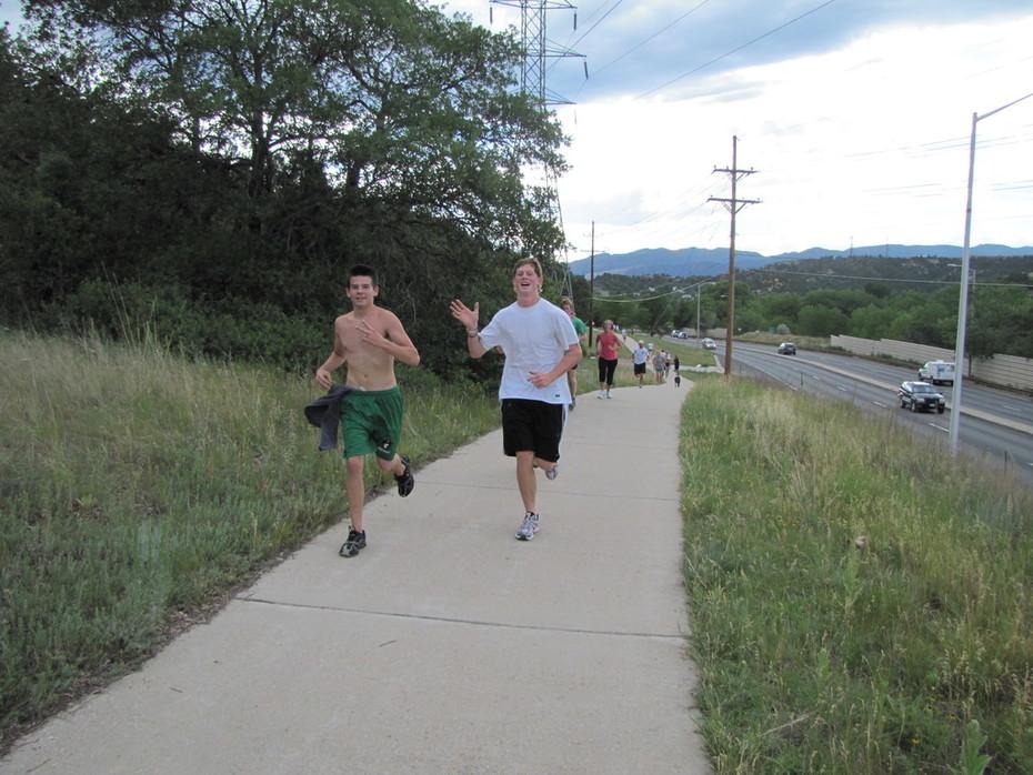 Jack Quinn's run, July 13