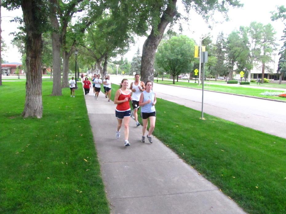 Jack Quinn's Running Club, July 27