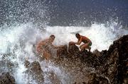 sfidando le onde