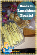 Recipes for lunch box treats!