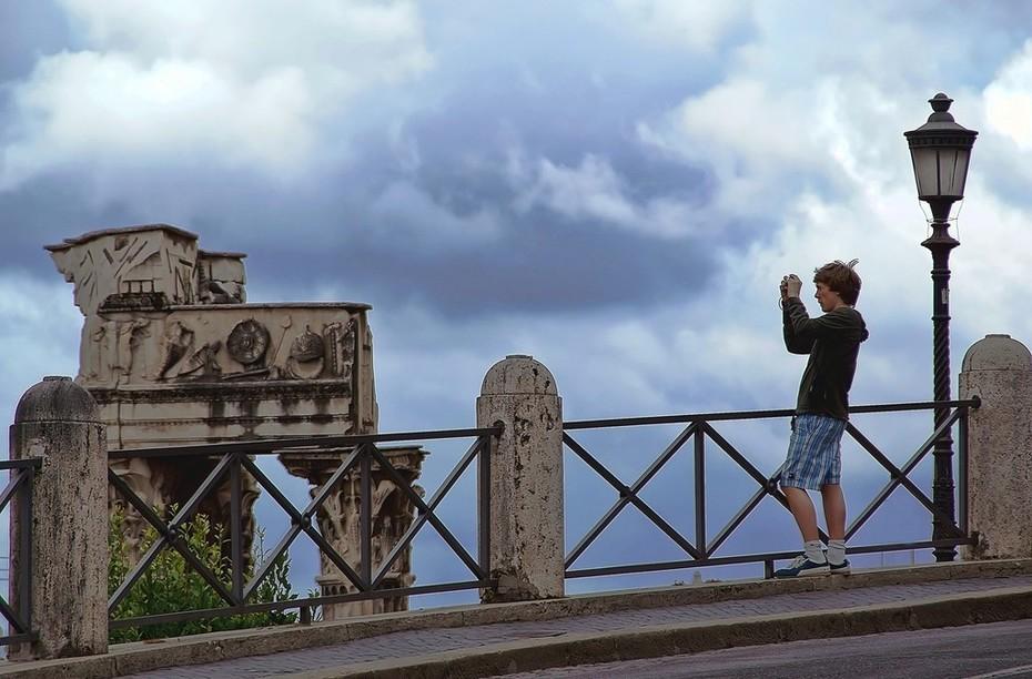 fotografando Roma
