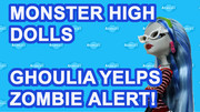 Ghoulia Yelps Monster High Zombie Doll Alert