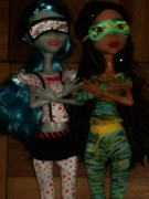 Cleo and Ghoulia