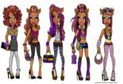 clawdeen's styles