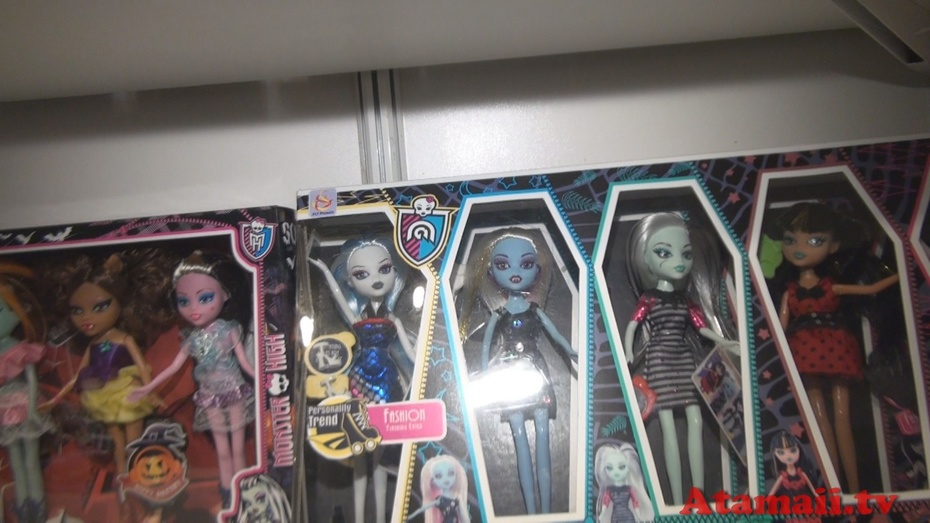 """Scary Girl"" Fail Dolls Hong Kong Toy Fair"